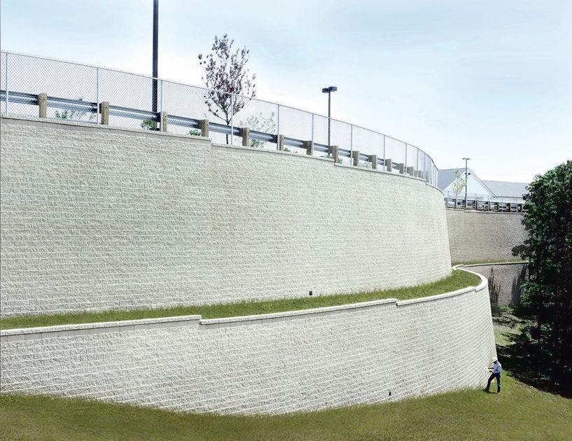 Engineering Advantages Of Versa Lok Retaining Wall Systems Versa Lok