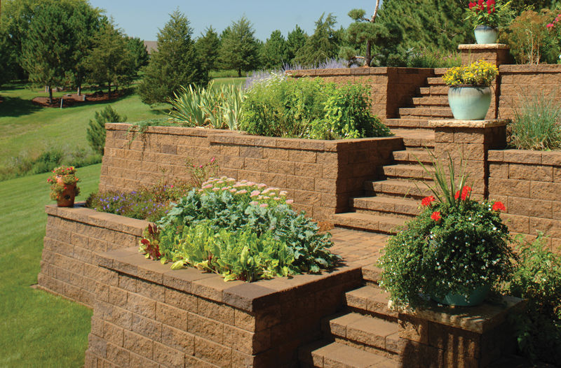 Retaining Wall Blocks For Every Landscaping Need Reliable And