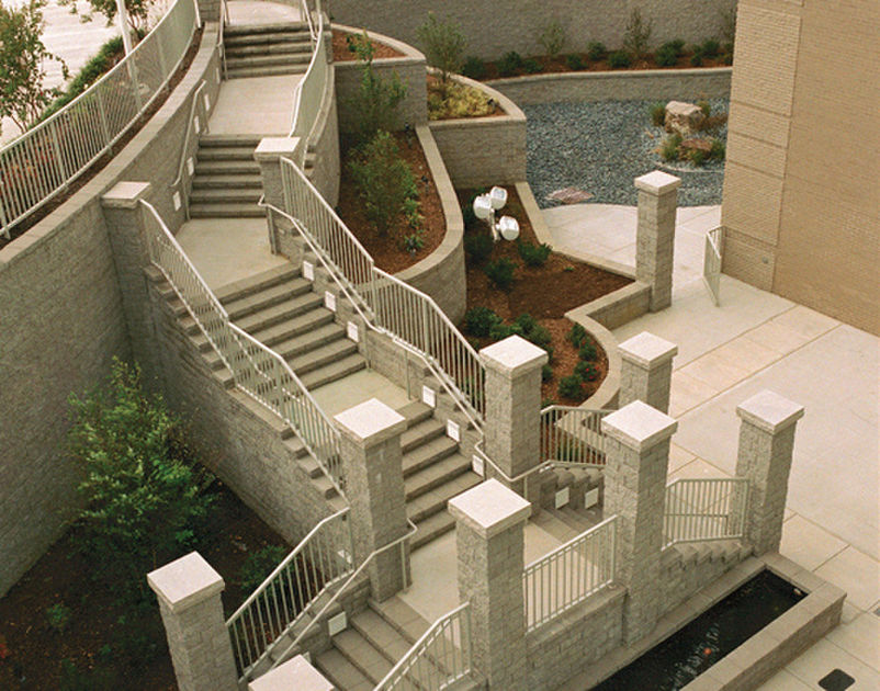 Architectural Advantages Of Versa Lok Retaining Wall