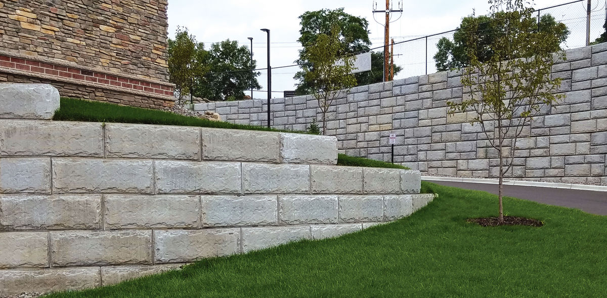 Big Block Retaining Wall Systems Versa Lok